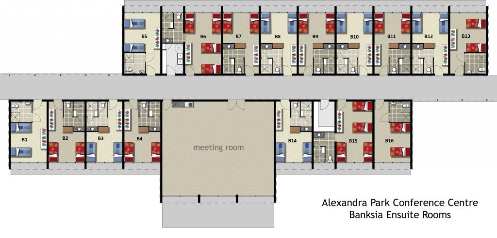 Floor Plan Banksia Alex Park Conference Centre